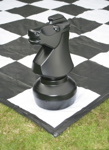 Giant Chess & Draughts Mat 3m